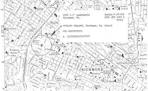 Richmond mid-19th Century